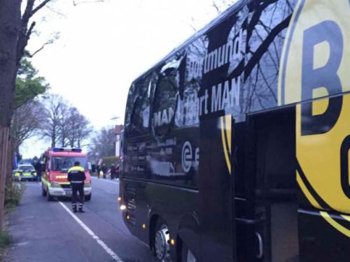 Suspeito admite ataque com bombas ao ônibus do Borussia Dortmund