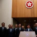 Hong Kong leader says 'attack' on China rep office a challenge to national sovereignty