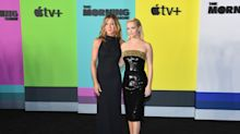 Jennifer Aniston and Reese Witherspoon glam up for The Morning Show premiere