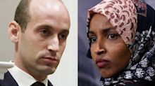 Rep. Ilhan Omar Calls Stephen Miller 'A White Nationalist'