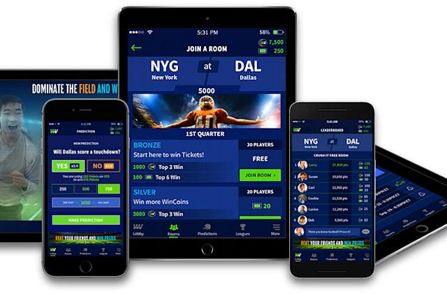 WinView Games - Fans now have the new way to enjoy football with the power in the palm's grasp