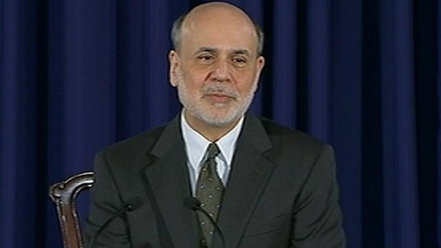 Bernanke Signals Interest Rates to Rise, Dow Drops 200 Points