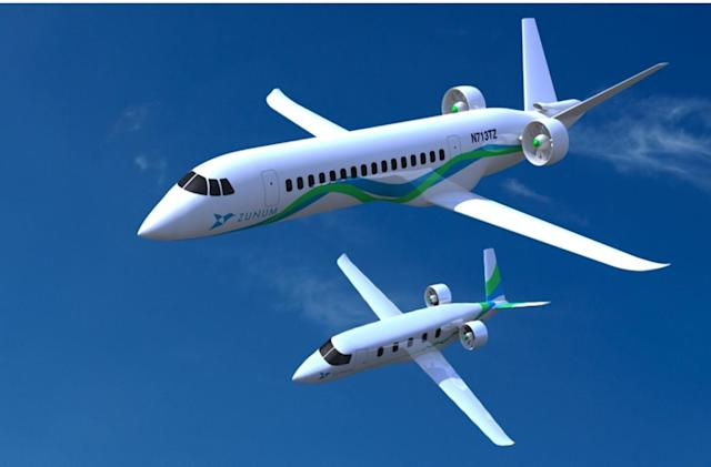 Zunum Aero's hybrid planes could halve the cost of US flights