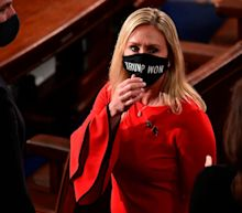 School shooting survivors call for Rep. Marjorie Taylor Greene to resign over old posts where she suggested the Parkland and Sandy Hook attacks were faked