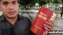 Autor de vídeo viral sobre bíblia e Haddad já comparou ratos a gays