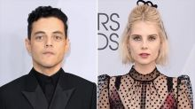 Rami Malek Kisses Lucy Boynton After Winning SAG Award for Bohemian Rhapsody