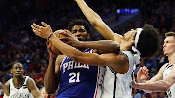 Embiid 'extremely sorry' about elbow vs. Nets