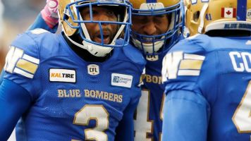 Blue Bombers dump Roughriders 31-0 to extend winning streak to four games