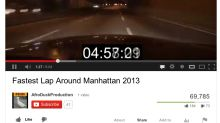 Video Depicts Record-Breaking, 24-Minute Drive Encircling Manhattan