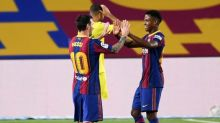FC Barcelona 4-0 Villarreal: Ansu Fati bags brace and Lionel Messi on target in opening LaLiga win