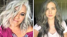 How to go grey gracefully: The women embracing their naturally silver locks