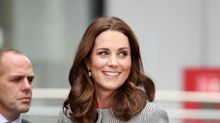 Kate Middleton exhibe su pancita con estilo