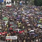 Hong Kong protesters clash with police