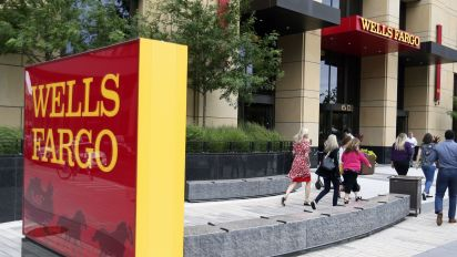 Wells Fargo expenses to be on the 'high end'