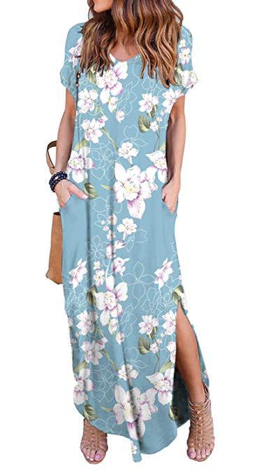 06d050f46daf Amazon best-selling maxi dress in Flower Light Blue (Photo: Amazon)