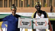 Athlétisme: records du monde pour Letesenbet Gidey (5.000) et Joshua Cheptegei (10.000m)
