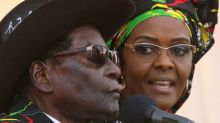 Zimbabwe's Mugabe in South Africa after wife is accused of assault