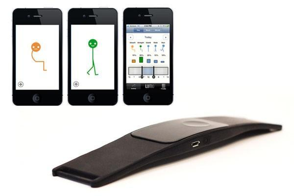 Insert Coin: LUMOback Smart Posture Sensor thrums when you slouch, charts your laziness (video)