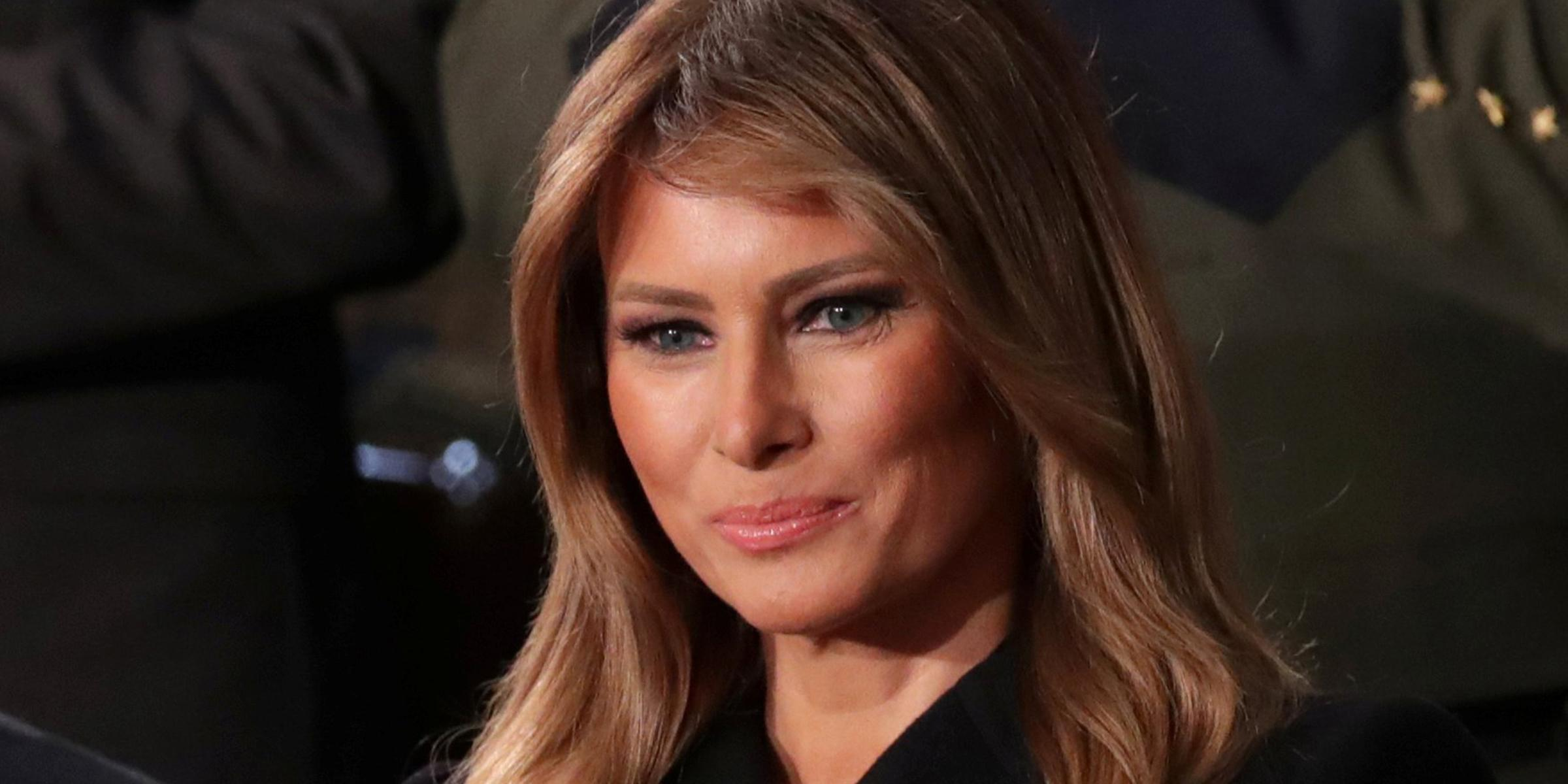 Melania Trump urges Americans to wear face coverings take social distancing 'seriously'