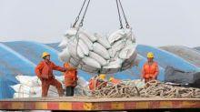 La guerra comercial debilita las exportaciones chinas con una caída del 1,1 %