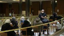 Vatican vaccinates homeless against coronavirus