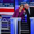 Warren, Sanders attack newcomer Bloomberg during Democratic debate