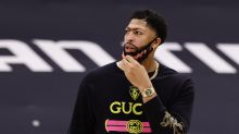 Anthony Davis seen working out on Staples Center court, could return to Lakers next week