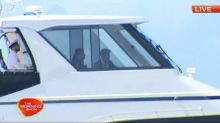 Meghan and Harry cruise to the Opera House
