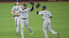 Lowe homers twice, Rays hold off Dodgers 6-4 to even World Series
