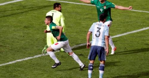 Foot - CM - AmSud - L'Argentine chute en Bolivie