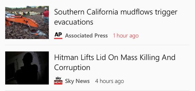 Microsoft's MSN News: A solid, usable news app for iOS