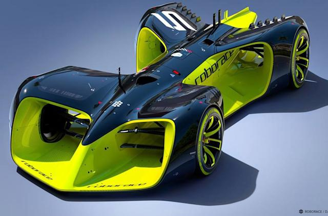 Roborace will feature futuristic, sci-fiesque driverless cars