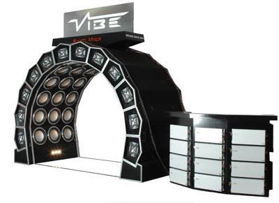 Vibe's Space Gate 38,800-watt bass tunnel