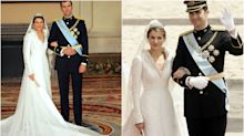 Los mejores y peores looks de la boda de Letizia y Felipe VI, 16 años después