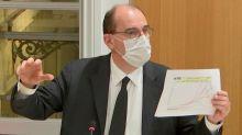 Covid-19: Jean Castex se justifie point par point devant l'Assemblée