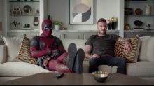 Deadpool sorry for joking about Beckham's voice