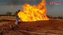 Explosão em gasoduto na Síria