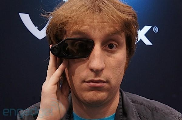 Vuzix augmented reality Smart Glasses prototype hands-on (video)