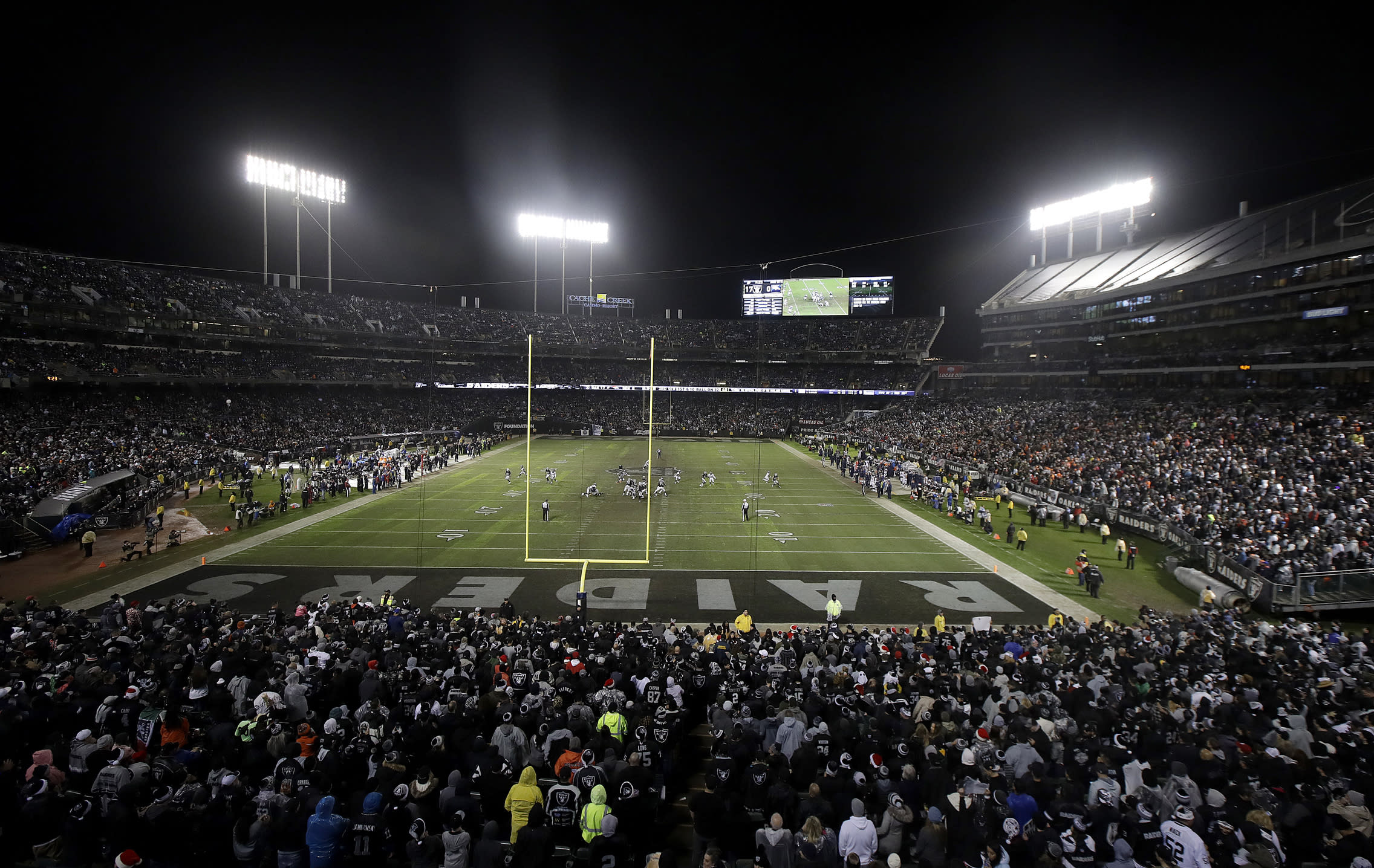 701575ef205 Raiders reportedly set to return to Oakland for 2019 season