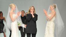 This designer turns celebrity red-carpet dresses into bridal wear