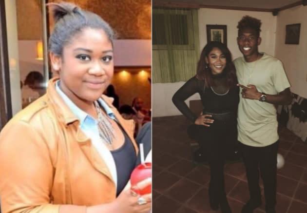 Rose May Alaba Schwester Von Fußballer Speckt Für Popstar Traum Ab