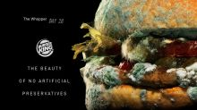 Burger King portrays moldy Whopper in new TV ad