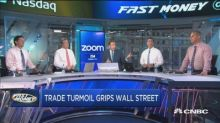 Trade turmoil rocking Wall Street