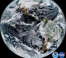 America's newest weather satellite sends glorious pictures of Earth (and the moon)