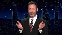 Jimmy Kimmel: Donald Trump's Hands Don't Lie When He Mentions Women