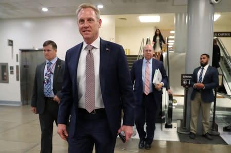 Shanahan withdraws from consideration to be U.S. defense secretary