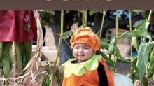 La hija de Khloé Kardashian disfruta de su primer posado de Halloween con sus primas