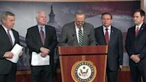 Senators announce immigration reform deal