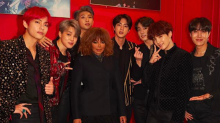 BTS Can't Keep Their Cool Meeting Janet Jackson -- Watch!