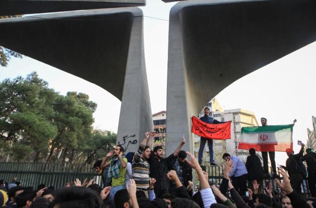 Telegram suspends channel for encouraging violent Iran protests